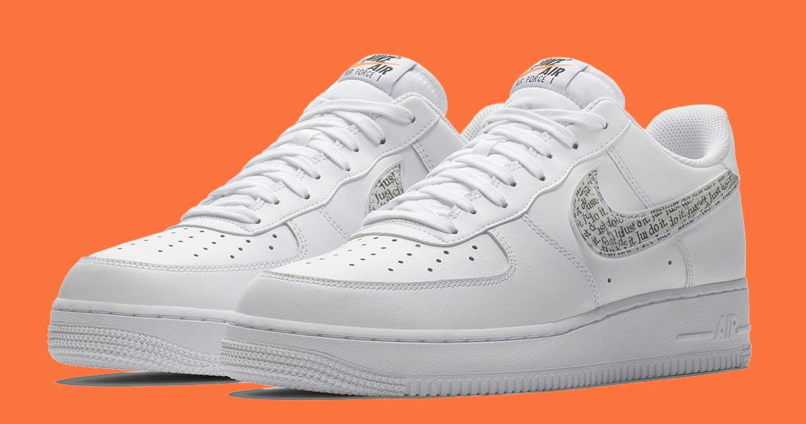 """Nike """"Just Did"""" the Air Force 1"""