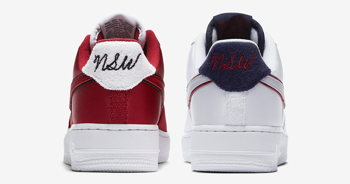 These Air Force 1s are slicker than your average