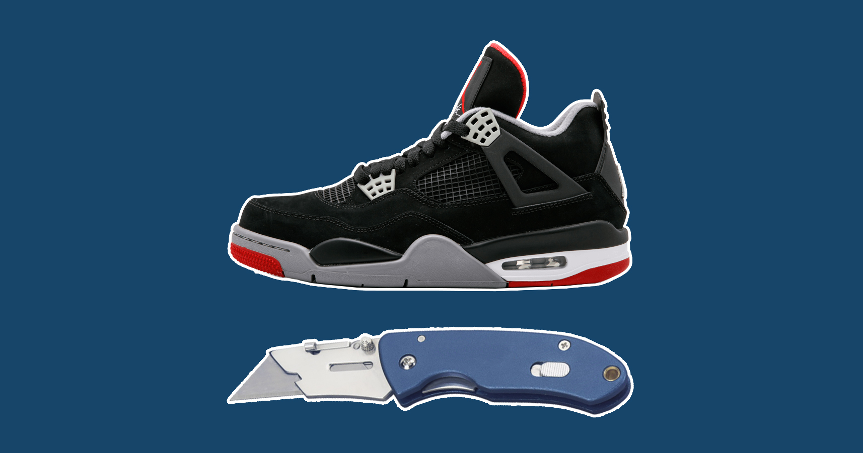 Teen slashes a bully with a box cutter over a pair of Jordans