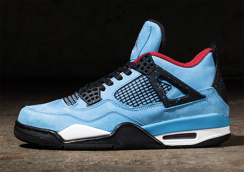 "Where to Buy // Travis Scott x Air Jordan 4 ""Houston Oilers"""