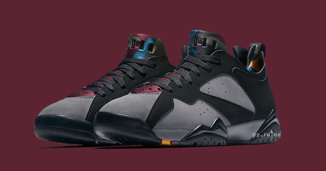 "There's a Low Version of the Jordan 7 ""Bordeaux"" on the way"