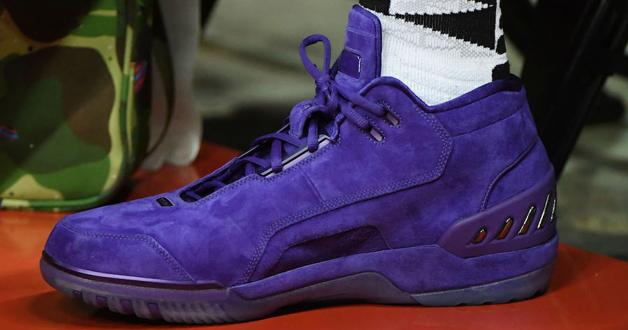 Are we getting a release of LeBron's Purple Nike Air Zoom Generation?