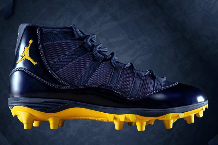 Michigan Unveil their 2018 Jordan Brand Cleats