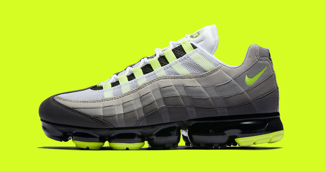 """Release Details for the Nike Air VaporMax 95 """"Neon"""" are here!"""
