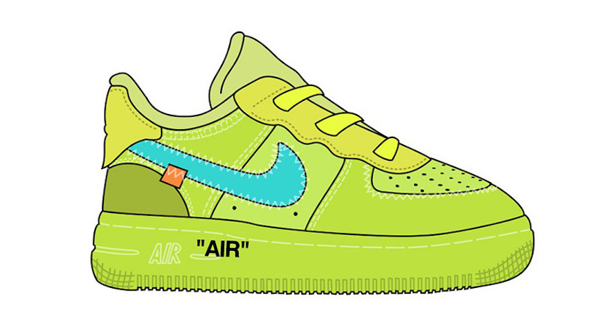 Nike and Off-White are Releasing Kids-Sized Forces