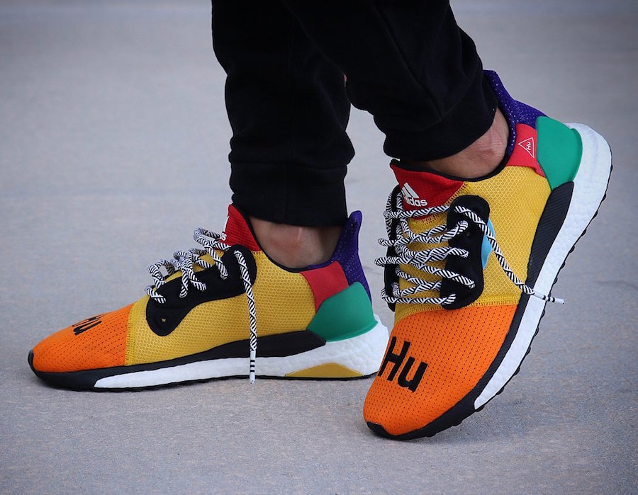 On-Foot Looks of the adidas Solar Hu Glide ST