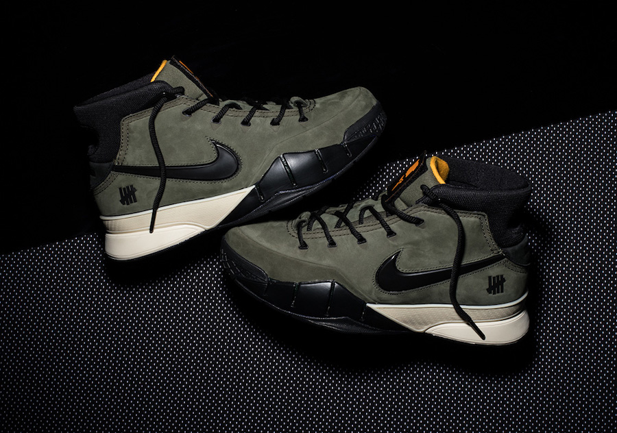 "Here's how to score the Undefeated x Nike Kobe Protro ""Flight Jacket"""
