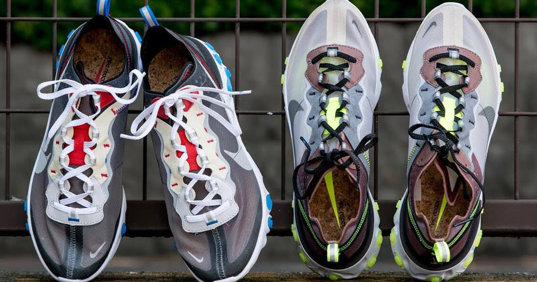 Leaked! More Nike React Element 87 Colorways