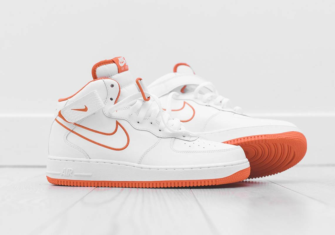 """Available Now // Nike Air Force 1 Mid """"Terra Orange"""""""