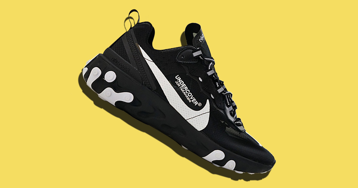 UNDERCOVER x Nike React Element 87s are still on the way