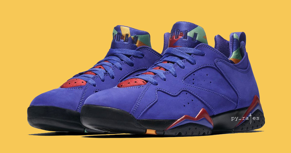 """Official Images // Air Jordan 7 Low NRG """"Bright Concord"""""""