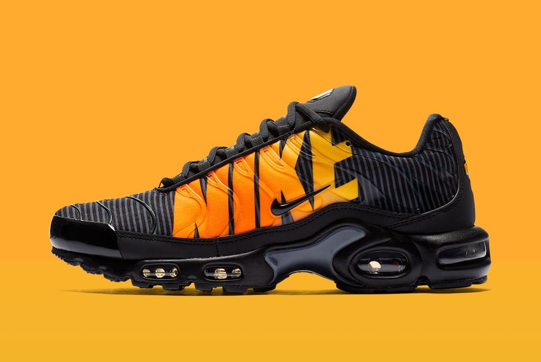 The Air Max Plus Earns it's Stripes