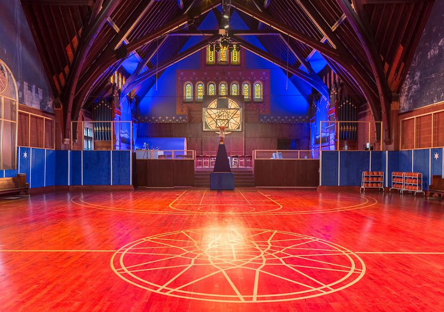 Nike Just Turned a Church into a Basketball Court