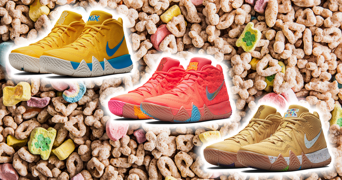 half off 2301c bed5a coupon code kyrie 4 cinnamon toast crunch 7bfa1 f4165