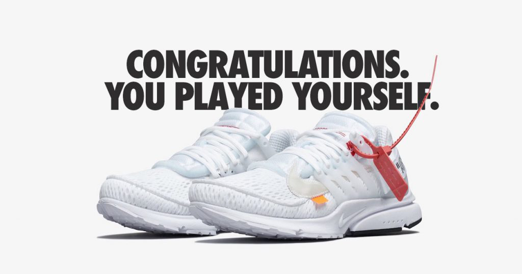 KITH Just Delivered the Biggest L to an Off-White Bot User