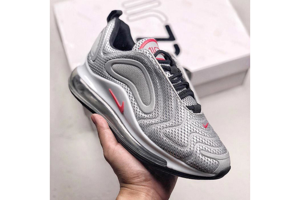 "Nike Shoot the ""Silver Bullet"" Colorway to the Air Max 720"