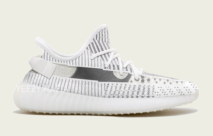 """The adidas Yeezy 350 V2 """"Static"""" are set for Holiday 2018"""