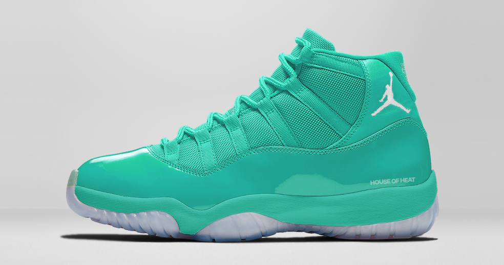 "The Concept Lab // Air Jordan 11 ""Jade"""