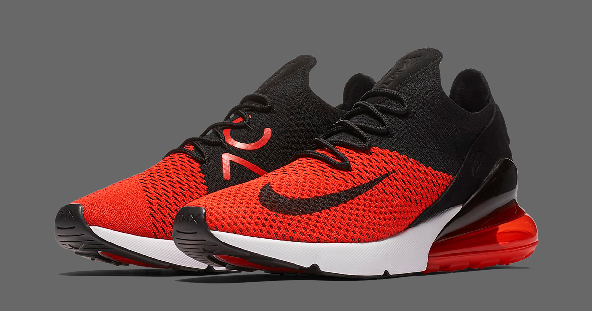 "Available Now // Nike Air Max 270 Flyknit ""Bred"""