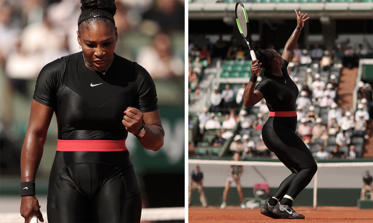 Serena Williams is now Banned from wearing her Nike Super Suit