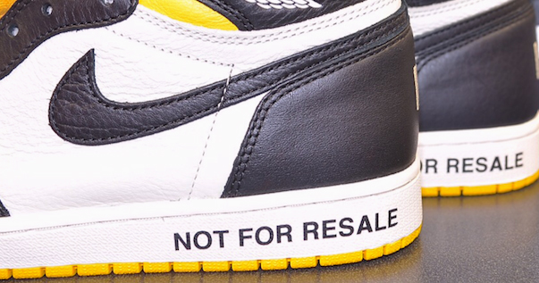 Jordan Brand Have had Enough of Sneaker Reselling