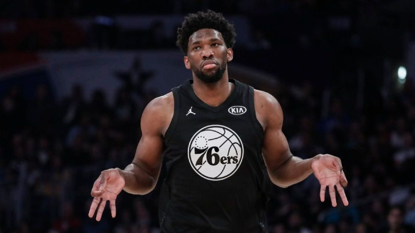 VIDEO // Joel Embiid Says DeAndre Ayton is Gonna Get His Ass Beat This Year