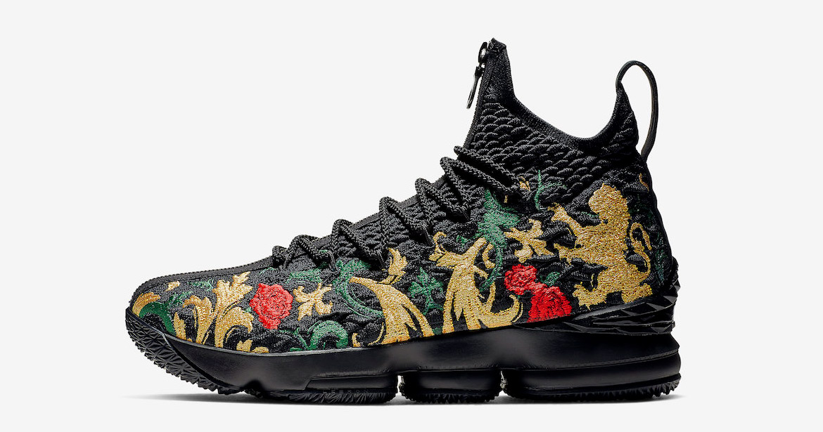 """It Looks Like the KITH x Nike LeBron 15 """"Closing Ceremony"""" is Releasing Again"""