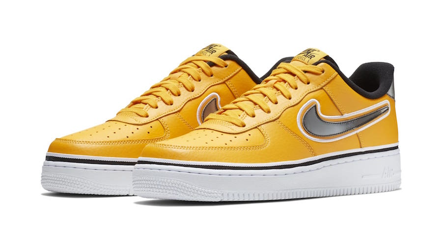 The Air Force 1 Goes Gold for Golden State