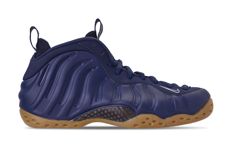 A Release Date is Set for the Nike Air Foampostie in Navy 'n' Gum