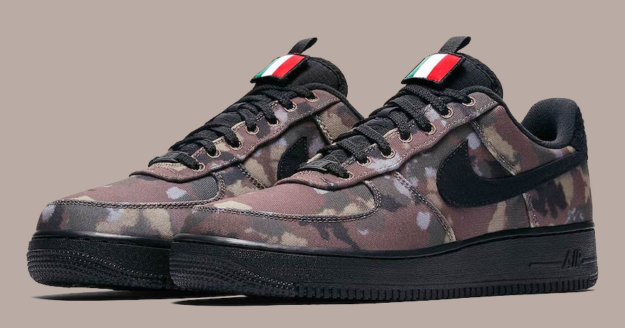 "The Air Force 1 ""Country Camo"" heads to Italia"