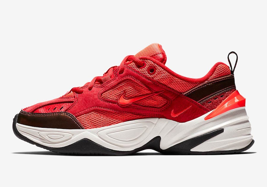 Nike's Newest Dad Shoes Gets Wrapped in Red Suede