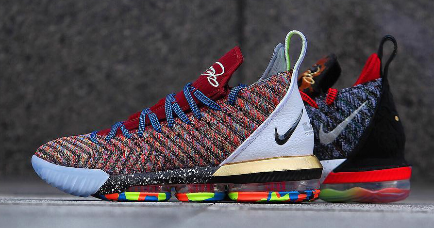 """Detailed look // Nike LeBron 16 """"What The?"""""""