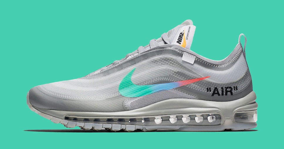 """Official Images // Off-White x Nike Air Max 97 """"Menta"""""""