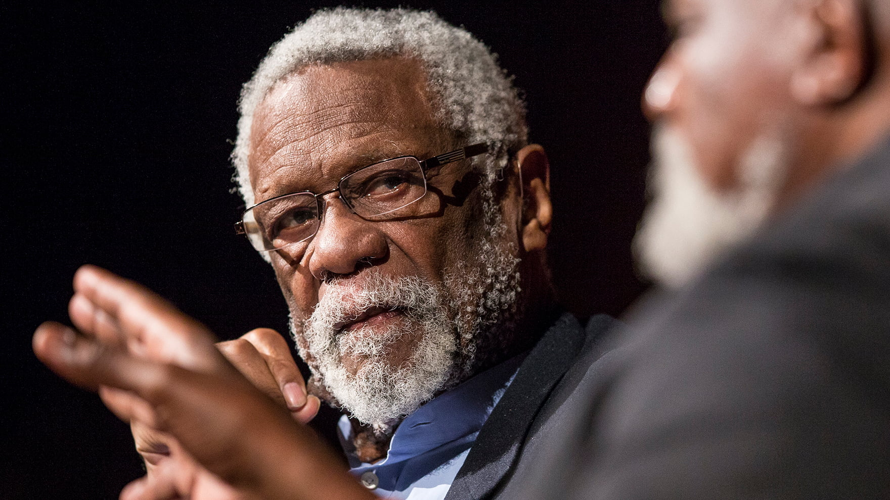 VIDEO // Bill Russell Discussing Leadership is the Greatest Thing You'll See Today