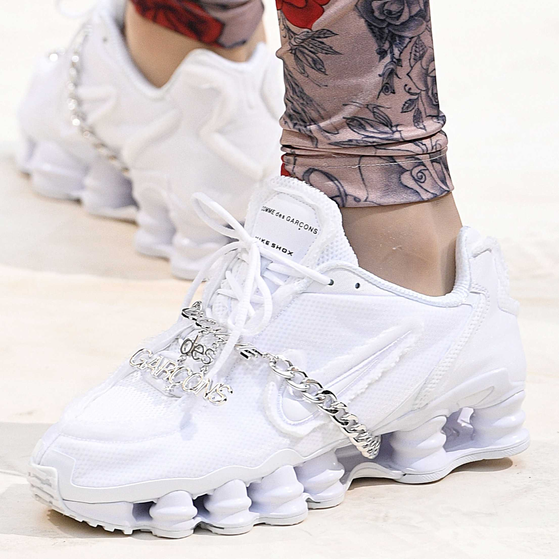 Comme des Garcons Give the Nike Shox Some Drip