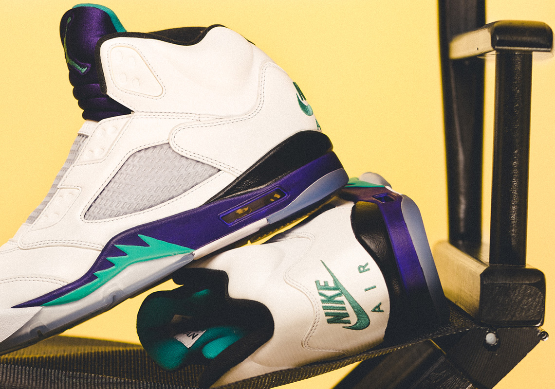 """The Air Jordan 5 NRG """"Fresh Prince"""" Will Drop in the OG West Philly Sneaker Shop"""
