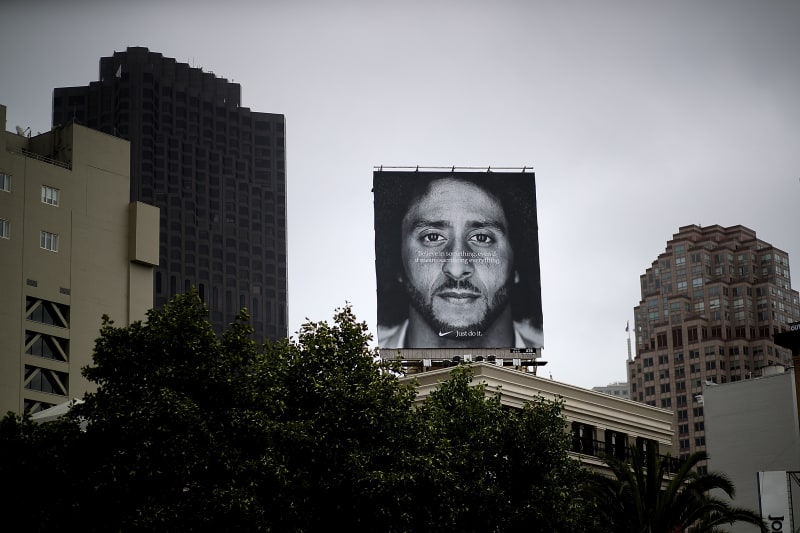 Nike's Value Has Gone Up $6 Billion Since the Release of Kaepernick's 'Just Do It' Ad
