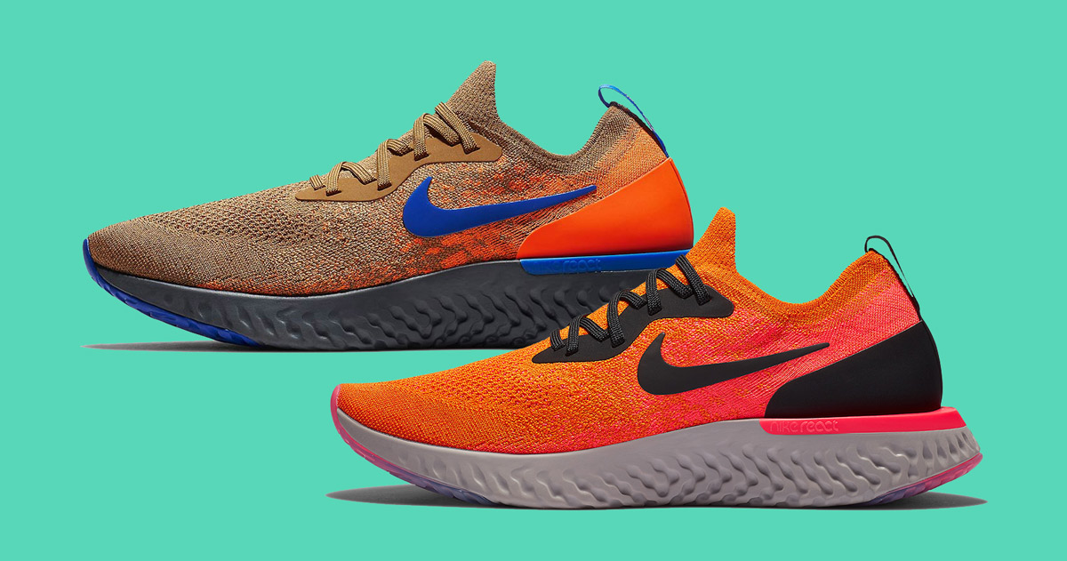 Two New Fall Colorways for the Nike Epic React Surface