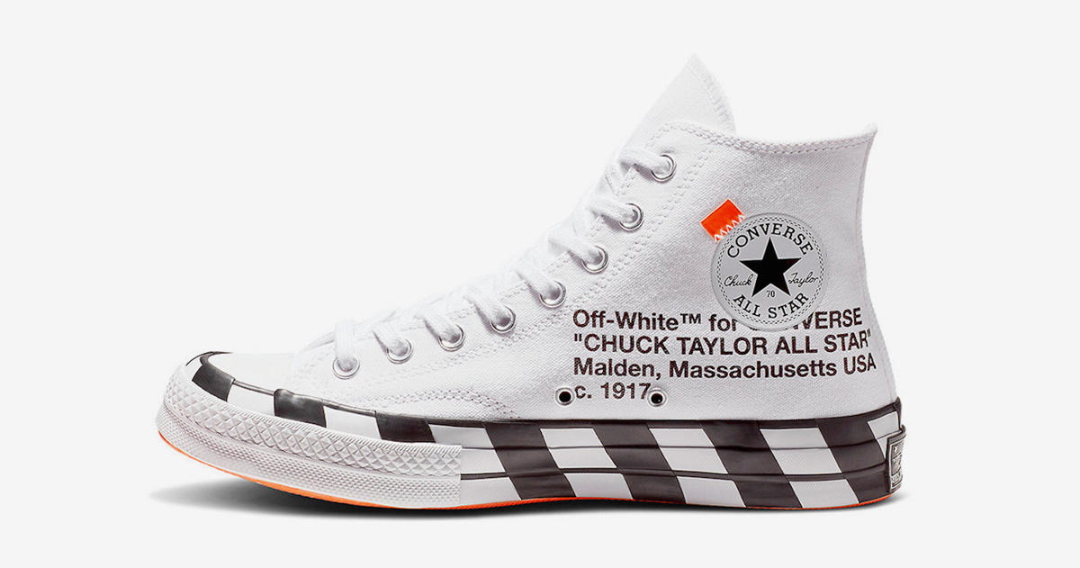 Grab an Official Look at Next Month's OFF-WHITE x Converse Chuck 70