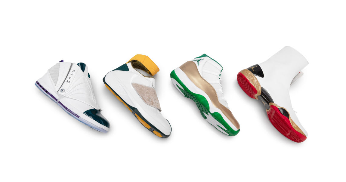 Jordan Brand Gifted Ray Allen a Hall of Fame Air Jordan Collection
