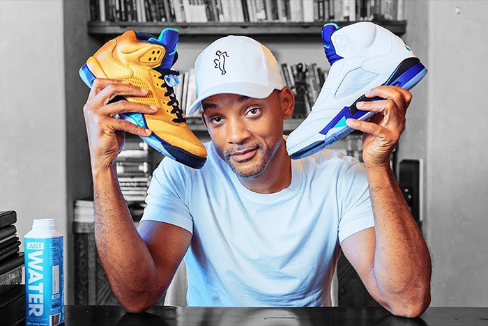 Will Smith Unboxes a Rare Pair of Jordans — and You Can Win Them!