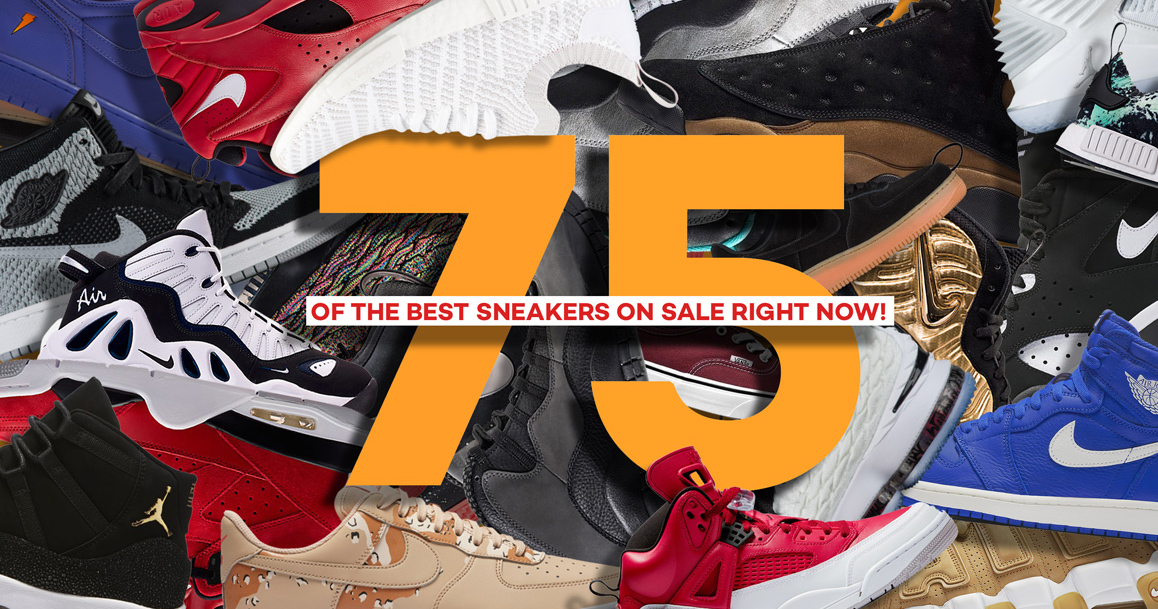 75 of the Best Sneakers On Sale Right Now!