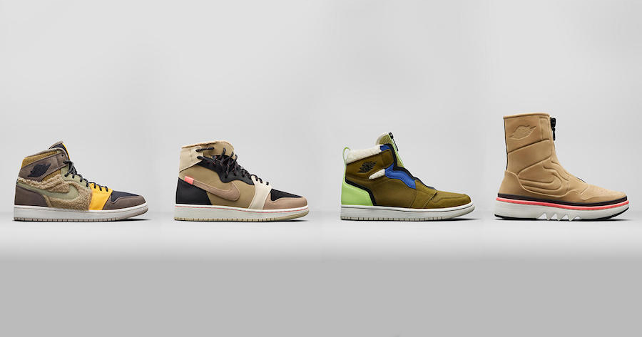 """A Detailed Look at the Air Jordan 1 Womens """"Utility Pack"""""""