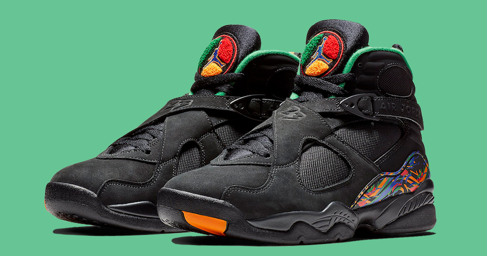The Air Raid-inspired Jordan 8 is Releasing These Holidays