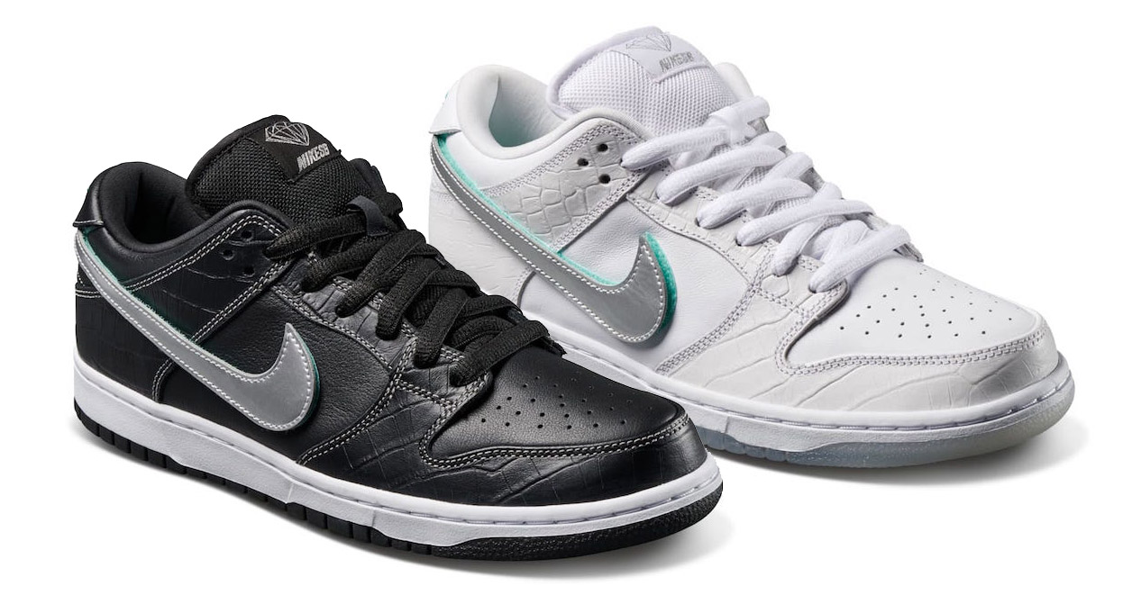 """Diamond Supply Co. Unveil Their """"Tiffany"""" SB Dunk Collection"""