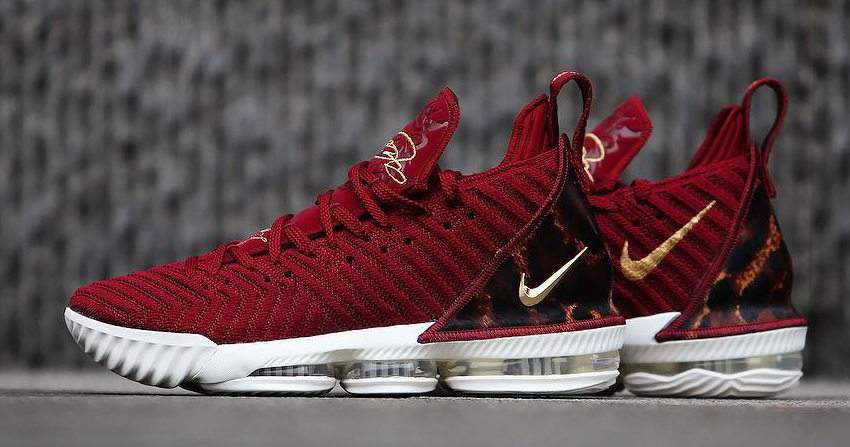 "Nike Set to Drop the ""King James"" LeBron 16 on Opening Night"