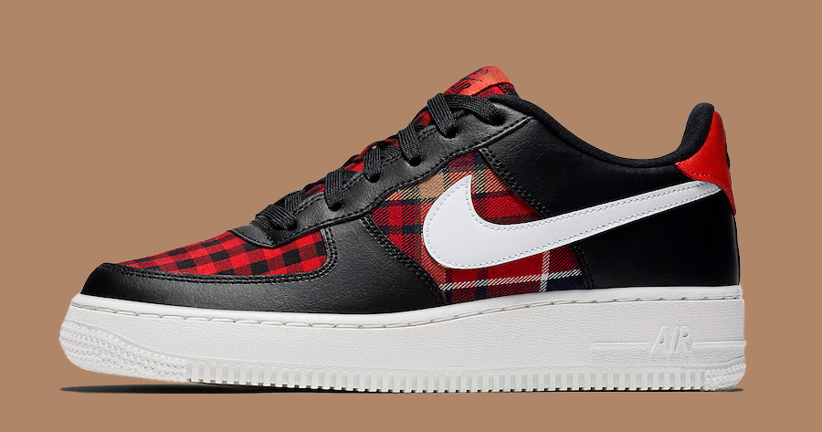 The Air Force 1 Gets Cozy in Checked Flannel