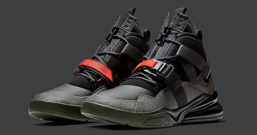Nike Air Force 270 Utility Arrives in 'Sequoia'