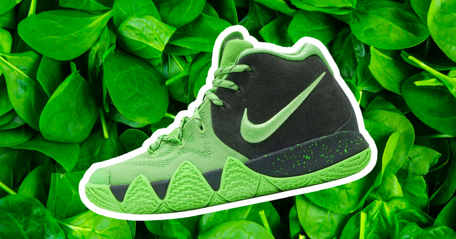Kyrie Wants You to Eat Your Greens