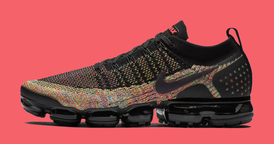 Multicolor Weave Returns on the VaporMax Flyknit 2